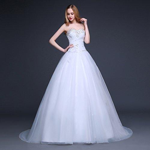 YSFS - Vestido de novia - Mujer blanco