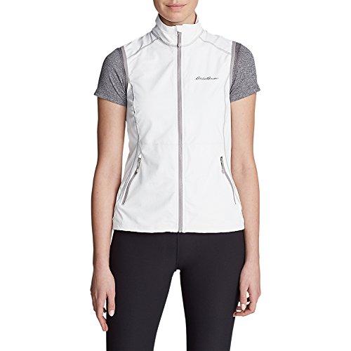 Eddie Bauer Women's Sandstone 2.0 Soft Shell Vest, White Regular S -