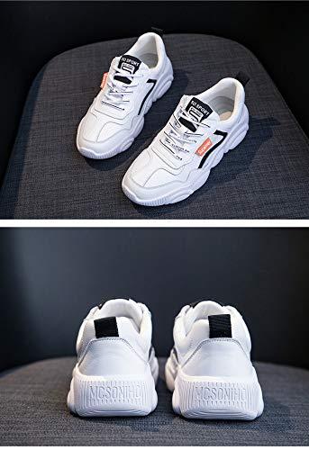 5 Salvaje Zapatillas 5 Color Cachorros Tamaño Blancos Zhijinli Deporte 5 Zapatos Mujer 5size De qntCY7