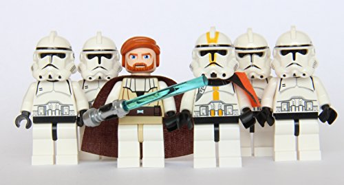 Star Wars Yellow Clone - LEGO® Star Wars - Commander Obi Wan & 5 Clone Trooper Army