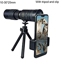 Dmong 4K 10-300X40mm Super Telephoto Zoom Monocular Telescope for Beach Travel