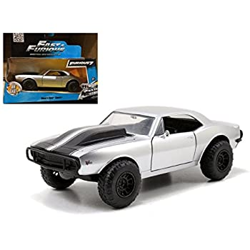 DOM/'S DODGE CHARGER /& ROMAN/'S CHEVY CAMARO SET FAST /& FURIOUS 7 1//32 JADA 97163
