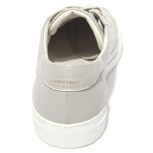 B0583 sneaker uomo PHILIPPE MODEL AVENIR scarpa grigio shoes men Grigio