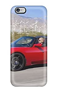 Cynthaskey Scratch-free Phone Case Cover For Ipod Touch 4 Retail Packaging Tesla Roadster 32
