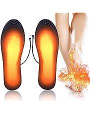 HEROPI 2020 Semelles Chauffantes USB Rechargeables pour Chaussure,Taille: 40-44 À Couper à la Taille
