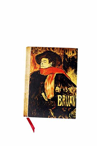 The Museum Outlet - Aristide Bruant Study by Toulouse-Lautrec Handmade Diary