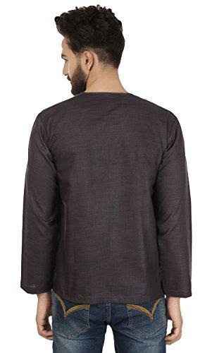 8efb8d3679a Maple Clothing Fashion Shirt Embroidered Mens Short Kurta Cotton India  Clothing