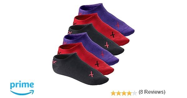 CFLEX LIFESTYLE - Pack de 6 pares de calcetines tobilleros invisibles unisex - Llama de iridio - 43/46: Amazon.es: Ropa y accesorios