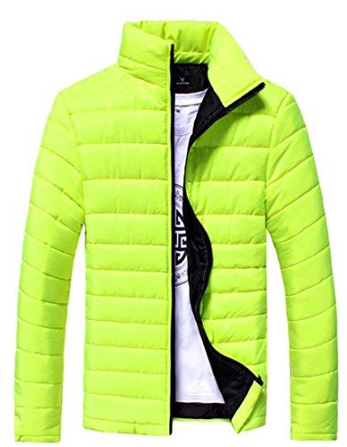 Winter Men's Collar Stand Generic 1 Jackets Down Puffer Packable FBwzCUfq