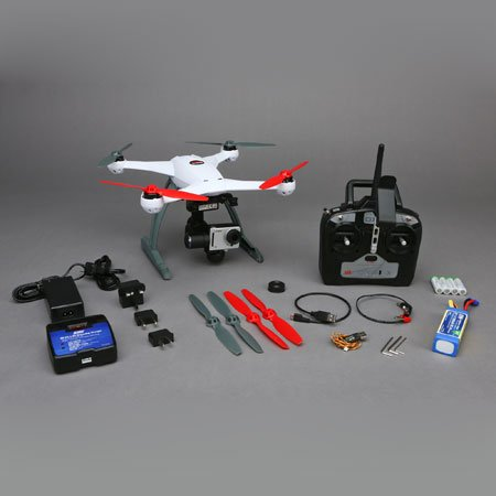 Blade 350 QX2 AP Combo RTF Quadcopter with SAFE and 2- 2200mAh 3S 11.1V 30C LiPo Batteries