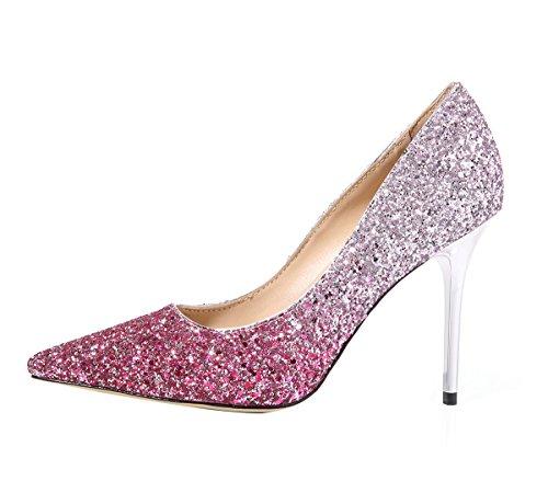 Guoar - Cerrado Mujer, color rosa, talla 37 EU