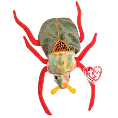 TY Beanie Baby - SCURRY the Beetle: Toys & Games
