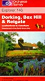 Dorking, Box Hill and Reigate, Leatherhead and Caterham (Explorer Maps)