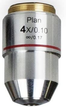 4X, 10X, 40X, 100X Magnification Vision Scientific VBO-T14 Infinity Plan DIN Objective Lens