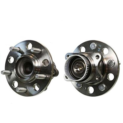 Detroit Axle - New Set (2) Rear Driver & Passenger Wheel Hub and Bearing Assembly w/ABS FWD ONLY ()