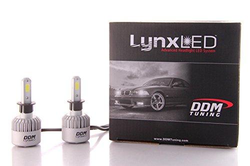DDM Tuning Lynx LED Headlights / Foglight Bulbs, 35W, 5500 Lumens, Pair, 1 Year Warranty (H3)