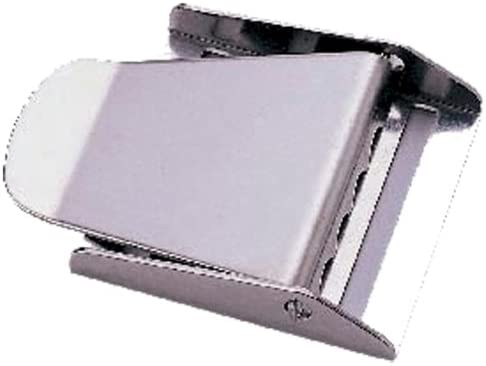 JCS Stainless Steel 3-Slot Weight Belt Buckle with Pin by JCS