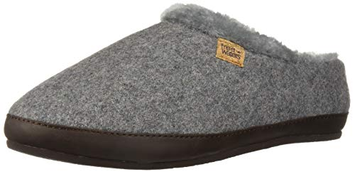 123351ae34f1c Freewaters Women's Chloe House Shoe Slipper with Happy Arch Support and  Durable Indoor/Outdoor Sole, Heather Grey ii S Medium US