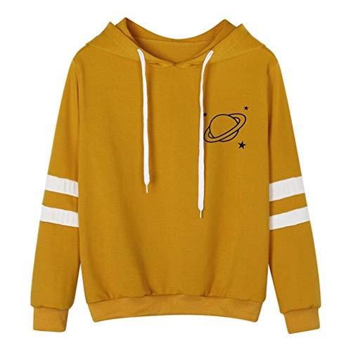 Womens Blouses Clearance,KIKOY Tops Long Sleeve Sweatshirt Printed Hoodie