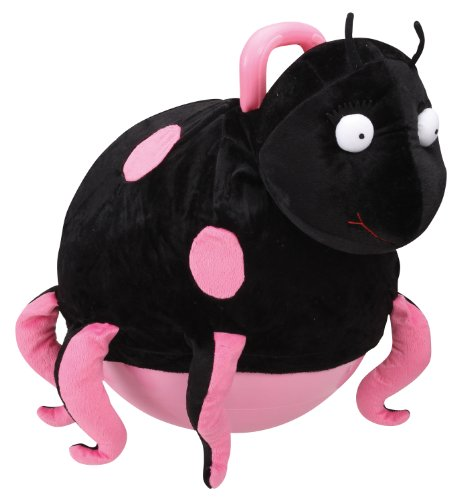 Charm Company Betsy Bug Hopper Ball, Pink Pink