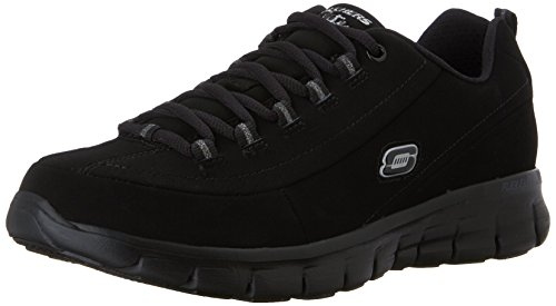 Skechers Sport Women's Trend Setter Fashion Sneaker,Black...
