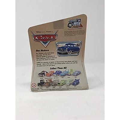 Disney Pixar Cars Series 1 Original Doc Hudson 1:55 Scale Die Cast Car by Mattel: Toys & Games