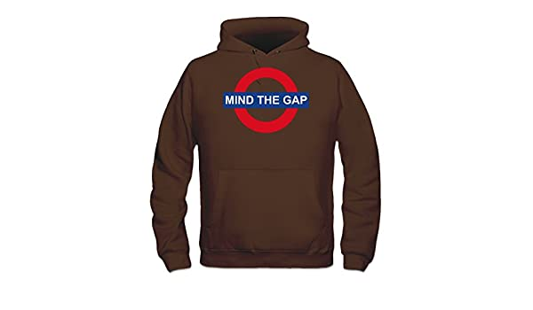 Sudadera con capucha Mind The Gap by Shirtcity: Amazon.es: Ropa y accesorios