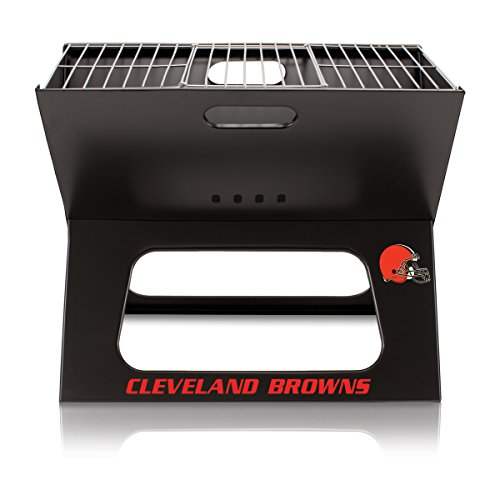 Nfl Portable Grill - NFL Cleveland Browns Portable Collapsible Charcoal X-Grill