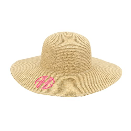 Monogrammed Sun Hat (Natural) - Monogrammed Natural Shopping Results