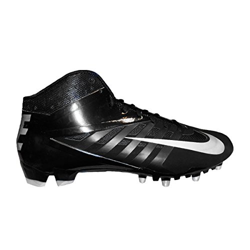 Nike Vapor Pro 3/4 TD Mens Molded Football Cleats (13.5, Black/Metallic (Ucla College Leather)
