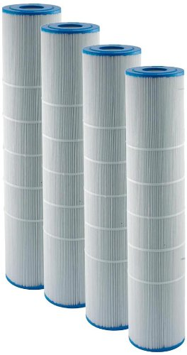Filbur FC-6455 Antimicrobial Replacement Filter Cartridge for Hayward CX1380RE Spa Filter, Pack of 4 by Filbur