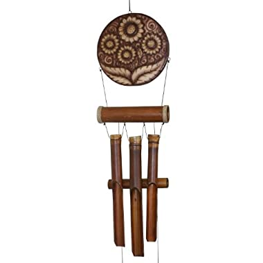 Cohasset 149H Natural Finish Sunflower Harmony Wind Chime