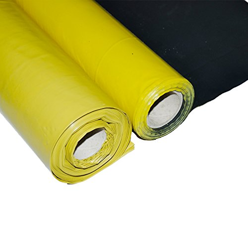 ObeX11 America's Only 6 Mil Vapor/Moisture Barrier Plastic Sheeting with Termite Control (4' W x 200' L) by LIGHTNING UNDERLAYMENT