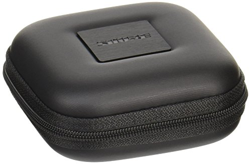 Shure EASQRZIPCASE-BLK Hard-sided Square Zippered Carrying Case for All Shure Earphones