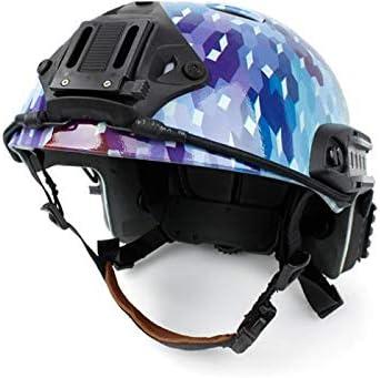 CNC Machined Universal Mount Plate Camera//Light Bracket for NVG Helmet Shroud Tan