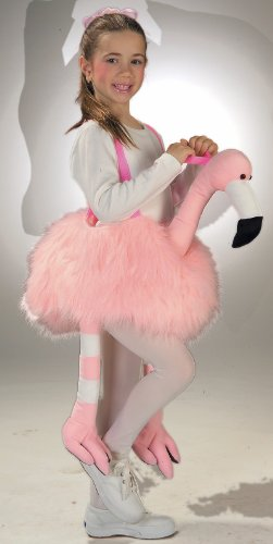 Ride-A-Flamingo Stuffed Kids Costume