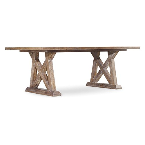 Rectangular Trestle Dining Table (Hooker Furniture Studio 7H Geo Trestle Dining Table)