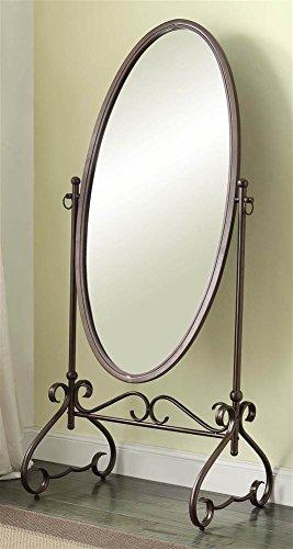 Linon Clarisse Metal Mirror ()