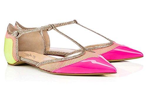 Planos Y Puntiagudos Sandalias Nuevas Verano Cómodos 1 Zapatos Zapatos Mano Hechos GONGFF T Zapatos A YwInp