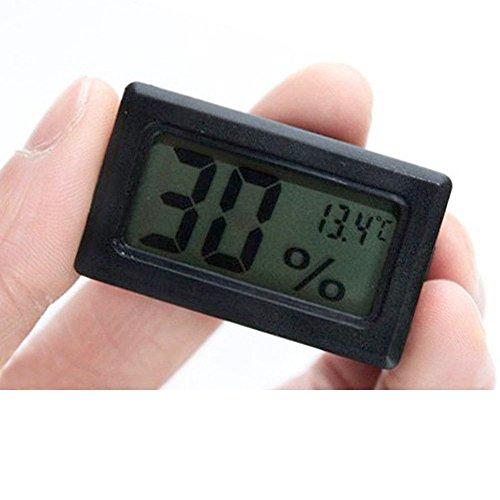 Honmofun Mini Digital Thermometer Indoor Outdoor Thermometer Digital Candy Thermometer Instant Read Thermometer Medical Thermometer Barometer Thermometer Hygrometer Electronic - Read How Dimensions To Glasses