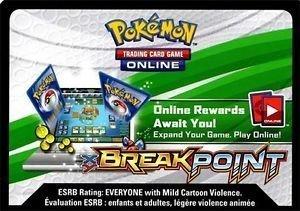 Pokemon Breakpoint Promo Lot of 36 Code Cards Break Point