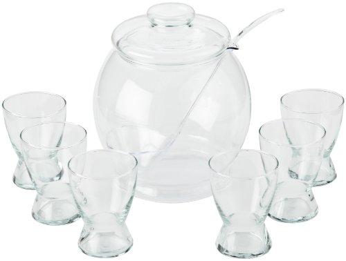 Bohemia Cristal 093 006 017 Bowleset 9 teilig aus hitzebeständigem Borosilikatglas
