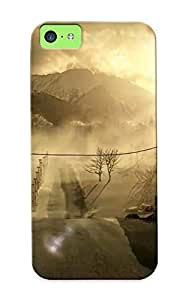 Eatcooment Hot Tpye Outlast Case Cover For Iphone 5c For Christmas Day's Gifts Kimberly Kurzendoerfer