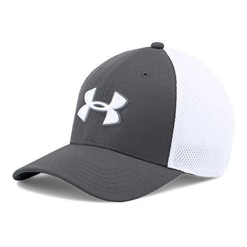 olf Mesh Stretch 2.0 Cap, Graphite/White, Large/X-Large (Mesh Stretch Cap)