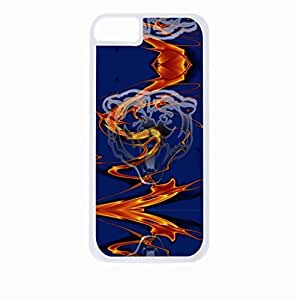 Bears-Logo Art- Hard White Plastic Snap - On Case with Soft Black Rubber Lining-Apple Iphone 4 - 4s - Great Quality!