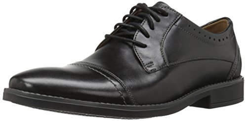 CLARKS Men's Garren Cap Oxford Black cheap real excellent cheap price o9rPZPzLrS
