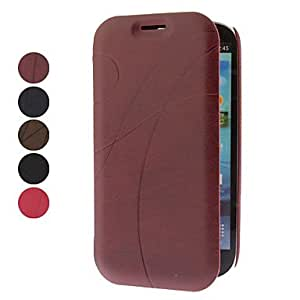 LIMME ships in 48 hours Elegant Line Pattern Full Body Case for Samsung Galaxy S3 I9300 (Assorted Colors) , Black