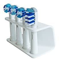 Seemii Toothbrush Holder for Oral B Brush Heads - Support tête brosse à dents électrique, Pour ORAL-B (White / Blanc)
