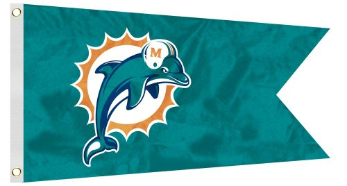 NFL Miami Dolphins Boat/Golf Cart Flag