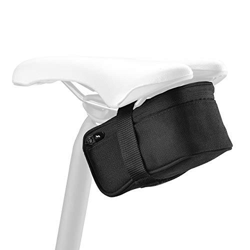 SCI CON ELAN 580 STRAP MOUNT SADDLE BAG - durable nylon - Cordura Black